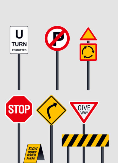 SADC Traffic Road Signs